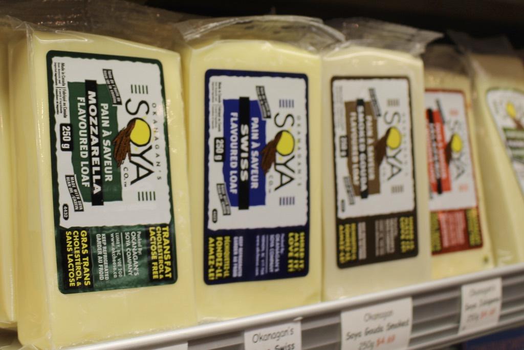 Soya Cheese - Ralphs Farm Market Dairy - Langley BC