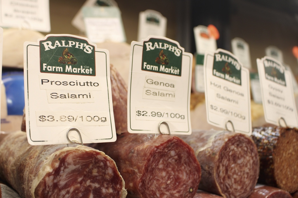 Deli Meats - Ralphs Farm Market - Langley Deli