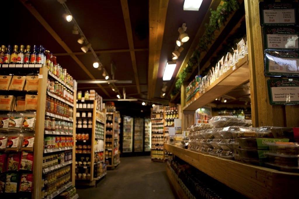 Natural Food Aisle - Natural Food Store - Ralphs Farm Market, Langley BC