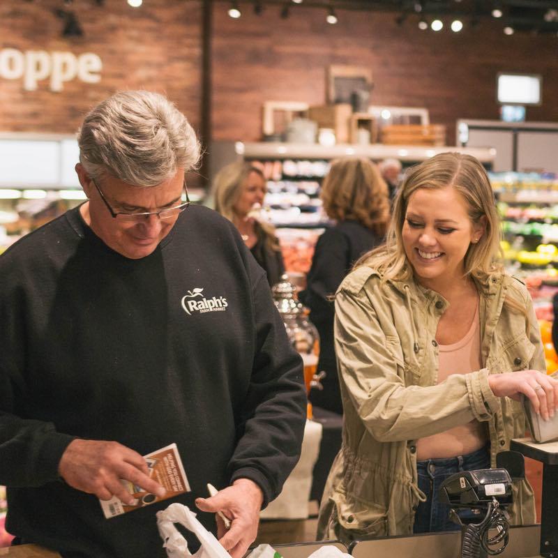 Ralph Bagging Groceries - Langley Farmer's Market